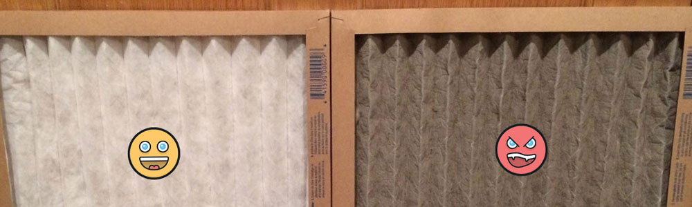 Change your furnace filter every 1-3 months to avoid even more symptoms!