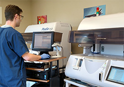 Allergychoices offers sophisticated diagnostics through the CLIA and COLA certified Reference Lab.